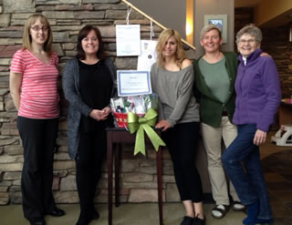 Centre for Natural Medicine raised funds throughout December in support of the Oak Table.